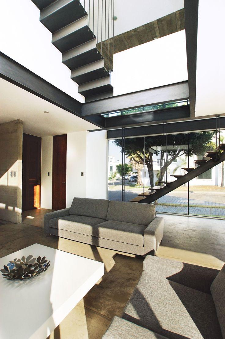 Casa Orea | Dionne Arquitectos #stairs #design #interior #architecture