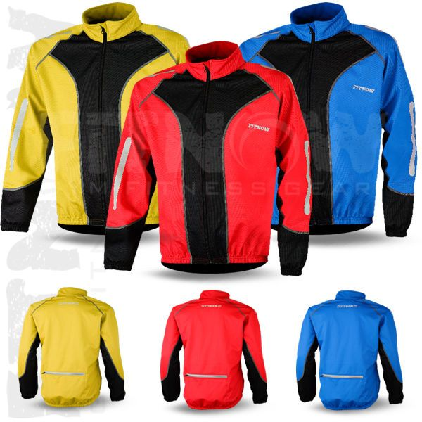Men Cycling Jacket Winter Windstoper Fleece Thermal Windproof Long Sleeve Jacket
