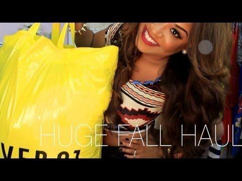 HUGE Fall Haul! Forever 21, Dailylook, & Rue21