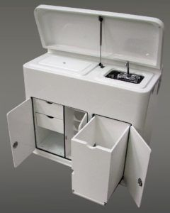 Boat Storage Boxes White