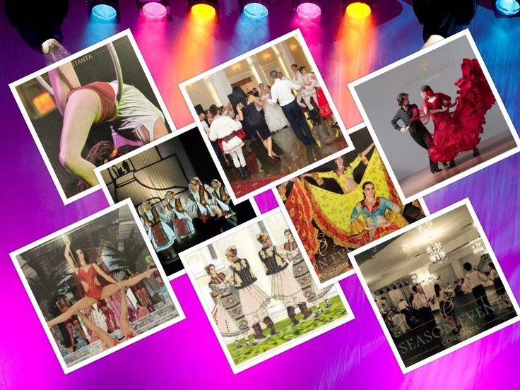Pachetul nostru de dansuri in Constanta cuprinde dansuri orientale, salsa, dansuri braziliene, samba, can-can, cabaret,  dansuri populare, dansuri tiganesti si chiar dansuri cu poiuri in flacari sau poiuri luminoase! Va oferim si momente de acrobatii si echilibristica pentru a incununa cu succes o seara deosebita in cadrul unui eveniment de tip nunta in Constanta! Detalii la 0762649069