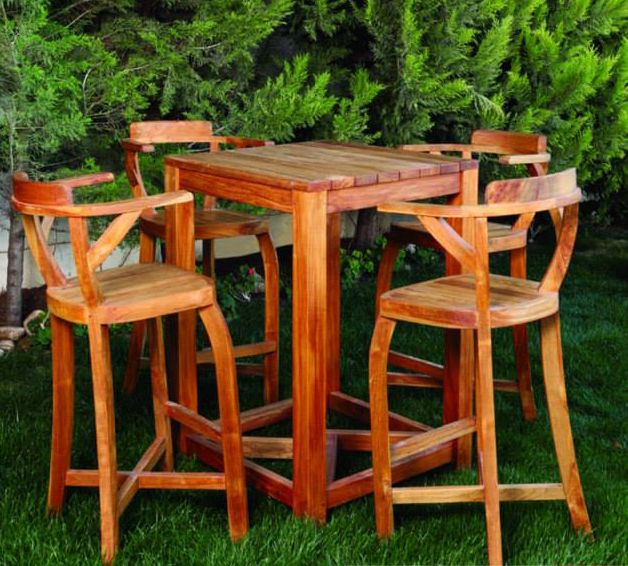 Our huge garden furniture collection features  of the best teak products. #style #design #outdoorfurniture #AlQairawan #Stools  #summer #outdoorlivings #nothingbutstyle #teak