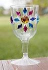 prinsessen drinkglas