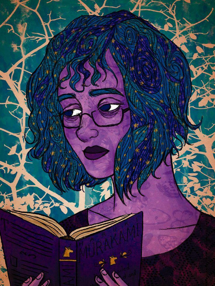 Self-portrait by EldritchPrincess