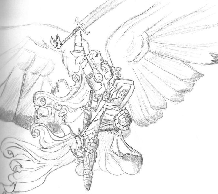 reproduction Angel of Magic the Gathering wallpaper