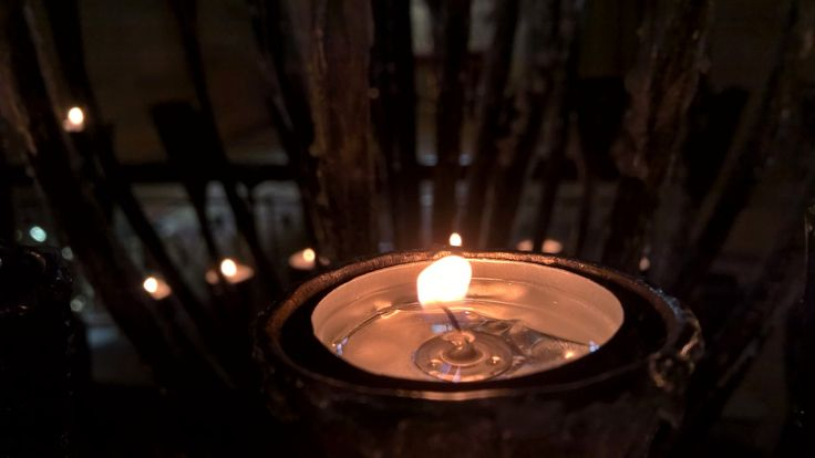 #candle #lumia #church #cathedral #sydney