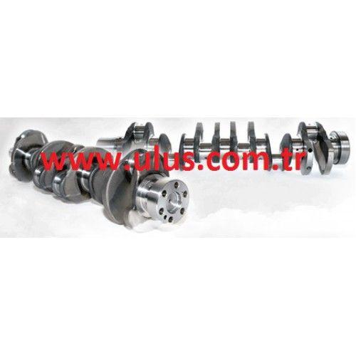 6754-01-1310 Crankshaft Komatsu, SAA6D107E engine spare parts