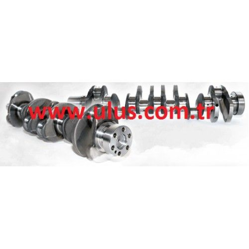 6754-01-1310 Crankshaft Komatsu, SAA6D107E engine spare parts