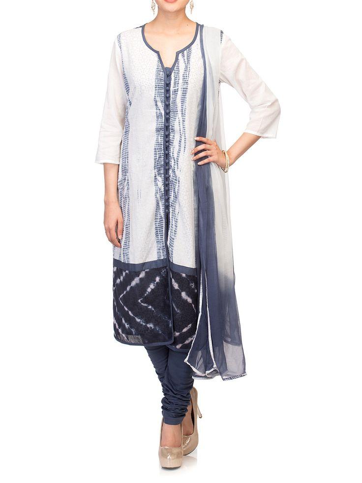 Shop Black Cotton Straight Suit Set online at Biba.in - SKD#4000BLK