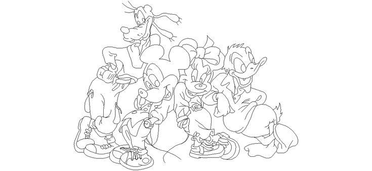 Dwg Adı : Disney karakterleri çizimi  İndirme Linki : www.dwgindir.com/puanli/puanli-2-boyutlu-dwgler/puanli-insan-ve-hayvanlar/disney-karakterleri-cizimi.html