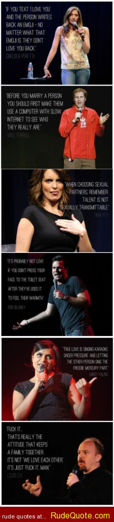 Comedians quotes compilation