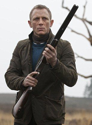 Bonds costume from the final act of Skyfall - The traditional suit and tie worn by Bond has been replaced with a rougher outfit, which would be more achievable for my production.
