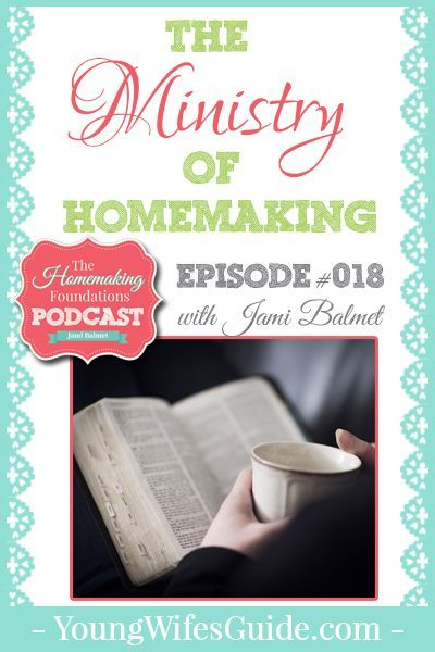 What does it mean to be a homemaker who glorifies God within her home? How can we view our homemaking as a ministry? We are going back to the Gospel in this episode so that we can cast a Gospel-vision for our homes.