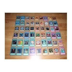 Yugioh Cards Lot of 40 Commons, 10 Rares