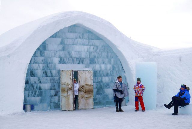 The Icehotel in Swedish Lapland to stay frozen and open for guests around the year