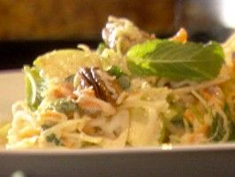 Cole slaw with pecans and spicy dressing recipe tyler florence cole slaw with pecans and spicy dressing forumfinder Choice Image