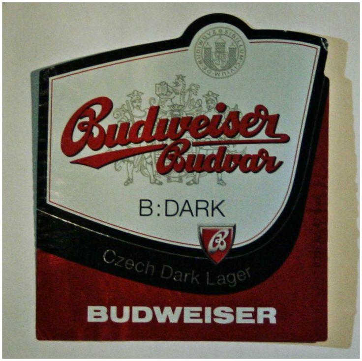 Sörcsap: Sörös címke: Budweiser Budvar
