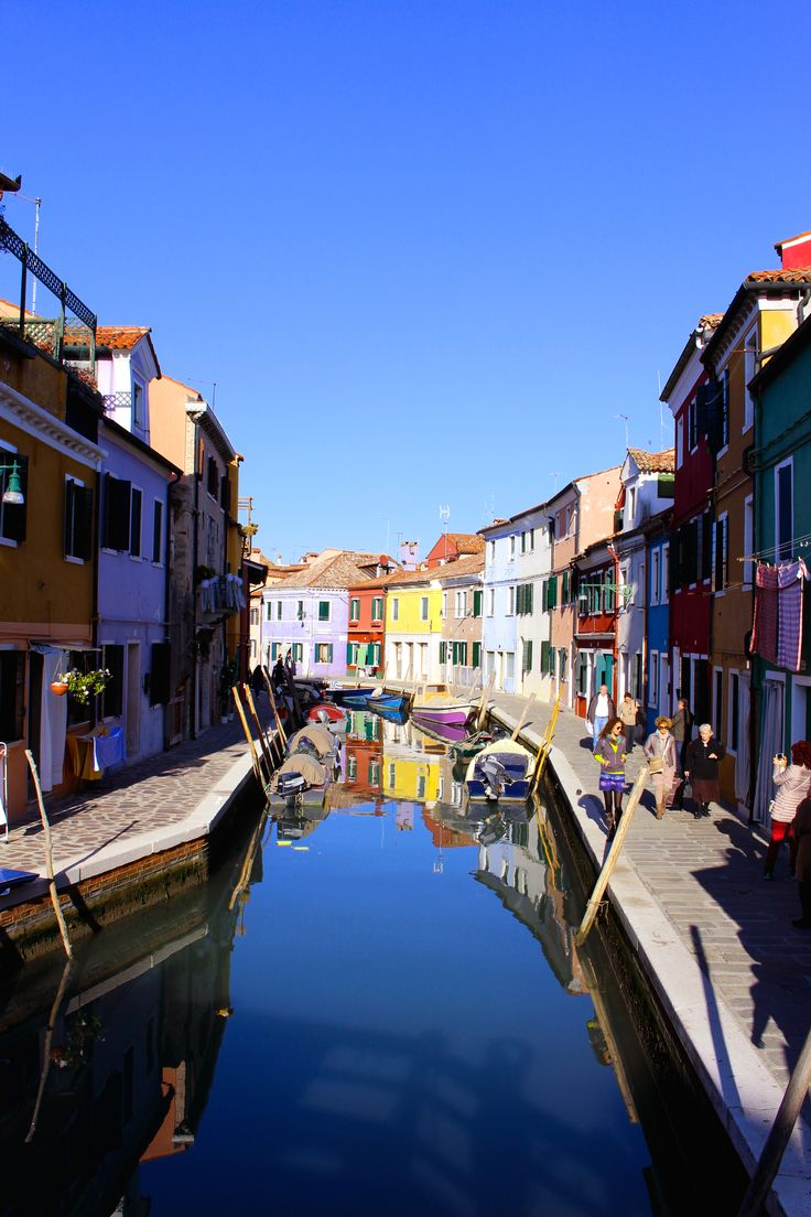 """...and then, I have nature and art and poetry, and if that is not enough, what is enough?""  ― Vincent van Gogh #Burano_venice_italy <3 <3"