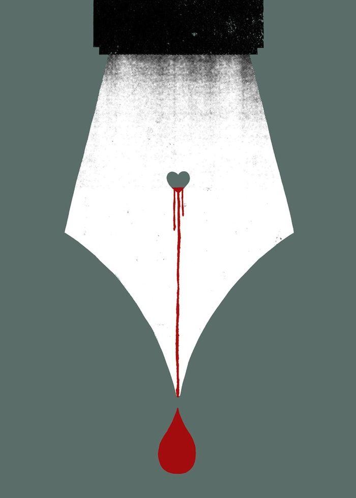 IlPost - Scripturient - Qualcuno che ha un violento desiderio di scrivere  [Possessing a violent desire to write]