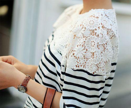 lace & stripes
