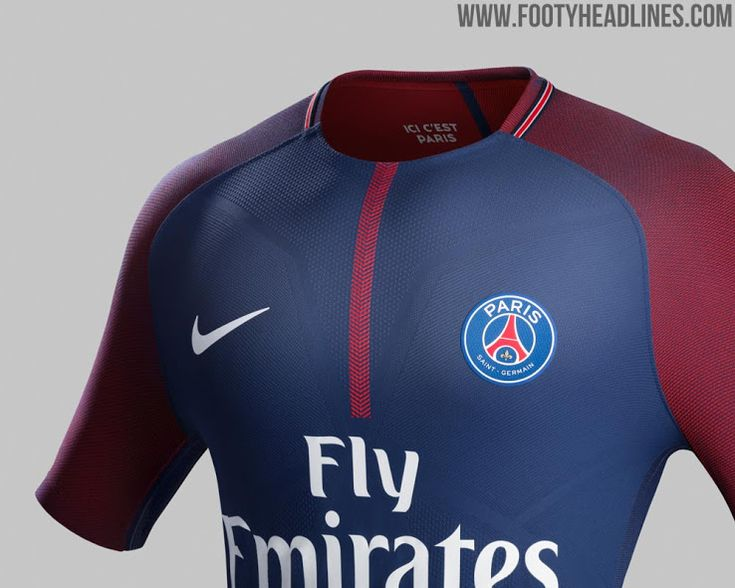 The PSG 17-18 home kit introduces a more vibrant, bolder look than most recent ones. It's once again made by long-term PSG jersey supplier Nike.