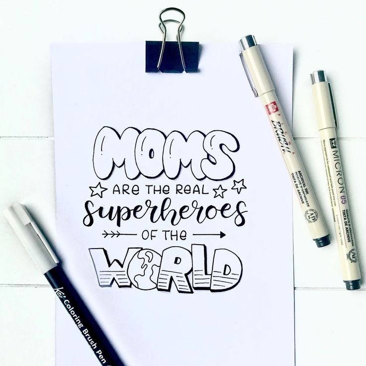 Moms are the real superheroes! Made by our lette…
