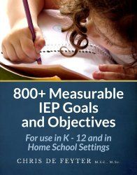 Learning to write Measureable IEP Goals for organization can help you write a goal for ANY instruction your child needs, including organizational skills