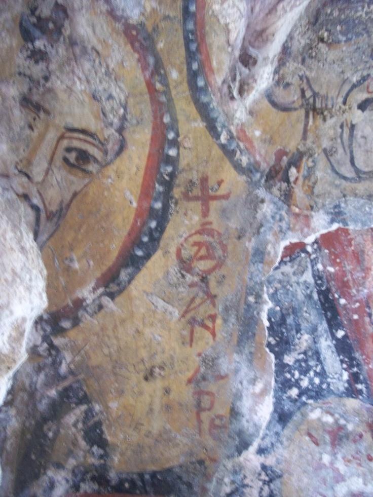 Affreschi rupestri - Grottaglie - Puglia - Italy