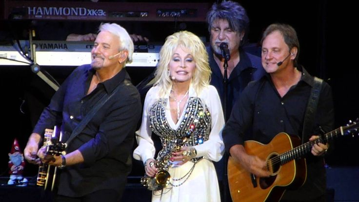 Dolly Parton Saxophone on Blue Smoke tour at AECC, Aberdeen 15th June 2014