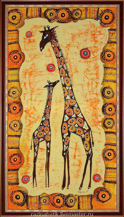 Этно ручной работы. Ярмарка Мастеров - ручная работа Жирафы. Handmade.
