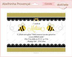 Convite Digital Abelhinha Provençal