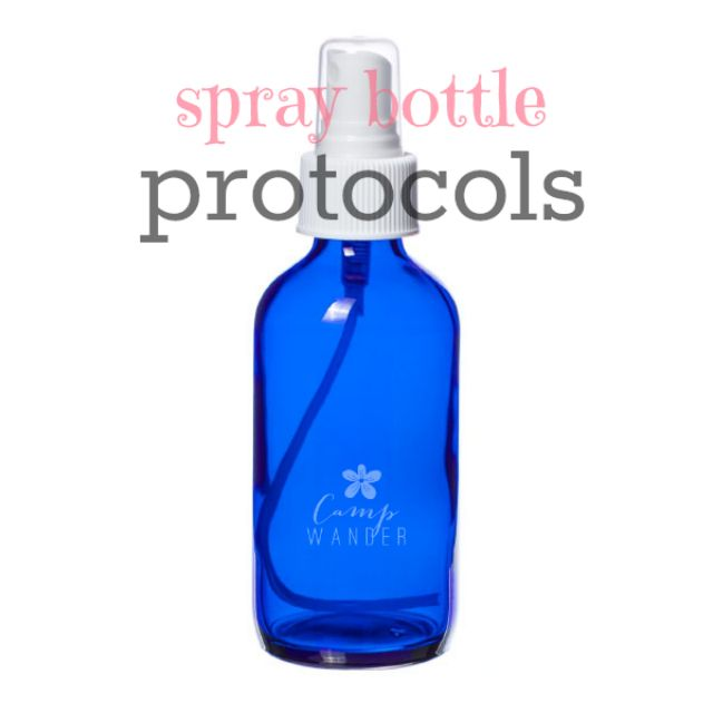 Spray Bottle Protocols for Sensitive Applications