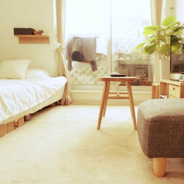 komugiさんの、掲載して頂きました♡,ねこと暮らす。,賃貸,ワンルーム 狭い,AllAbout,オールアバウト,部屋全体,のお部屋写真