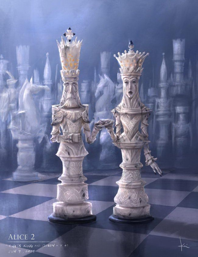 Alice 2 Chess-King-Queen Kei-Acedera