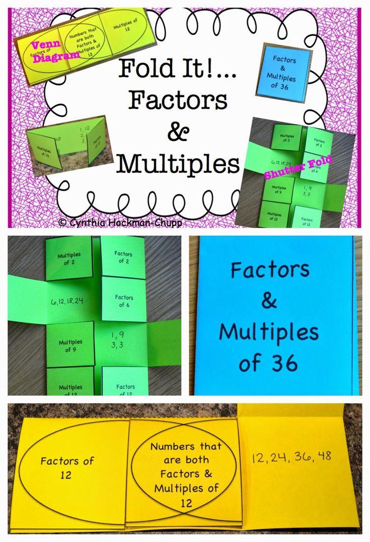 91 best Math-Factors, Multiples, Prime, Composite images on ...