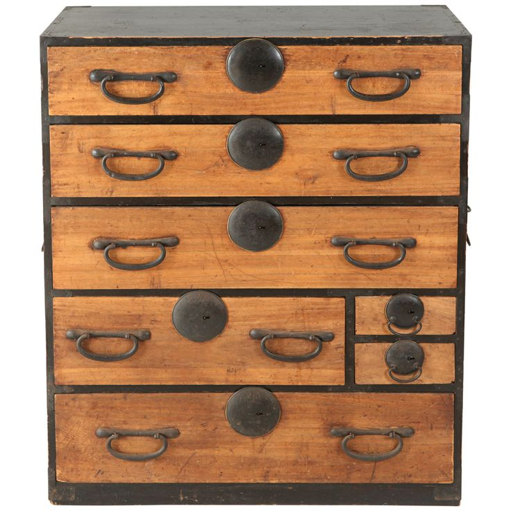 Japanese Chest Of Drawers / Tansu | From A Unique Collection Of Antique And  Modern Dressers