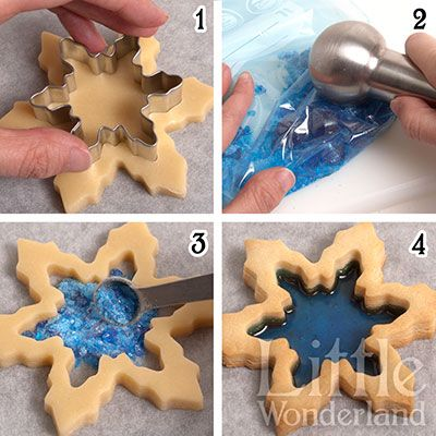 I just wish I could read Spanish!! Tutorial: galletas de cristal | Little Wonderland