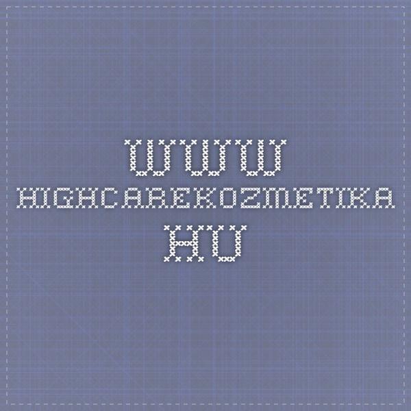 www.highcarekozmetika.hu