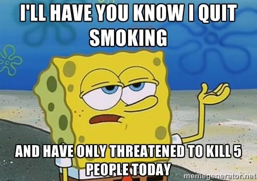 quit smoking meme - Google Search