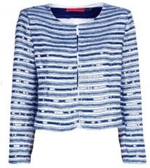 Original Blauw / wit jasje Froukje de Both | Zapstore.nl
