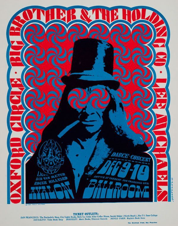 victor moscoso art | Victor-Moscoso_Avalon-Ballroom-1966_Big-Brother-and-the-Holding ...
