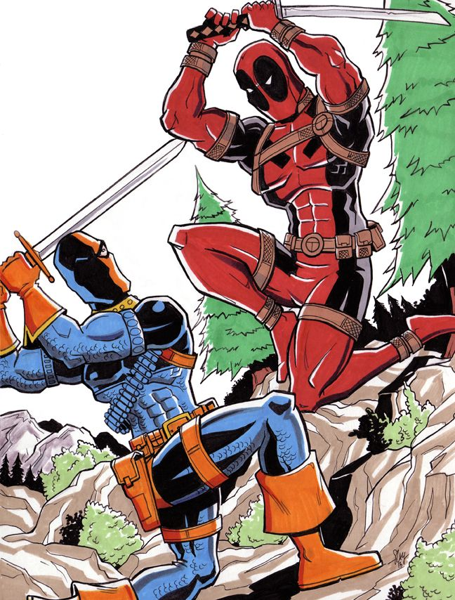 Deathstroke vs Deadpool °°