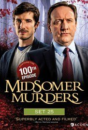 Midsomer Murders (1997)  Crime Drama TV Series:  A veteran DCI and his young sergeant investigate murders around the regional community of Midsomer County.   The ones I've seen:    up to 19, 24,