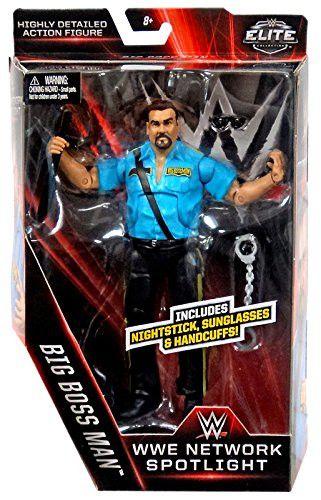 WWE Elite Collection WWE Network Spotlight the Big Bossman figure by Mattel.
