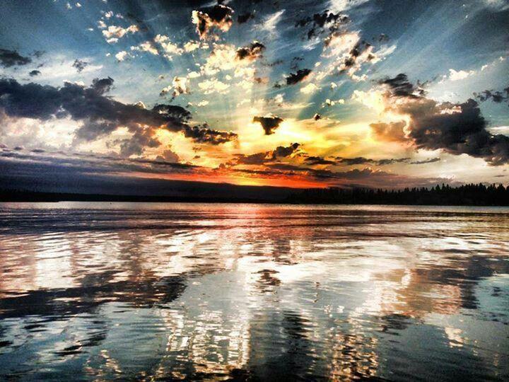 Emma Lake (Sask) Sunset