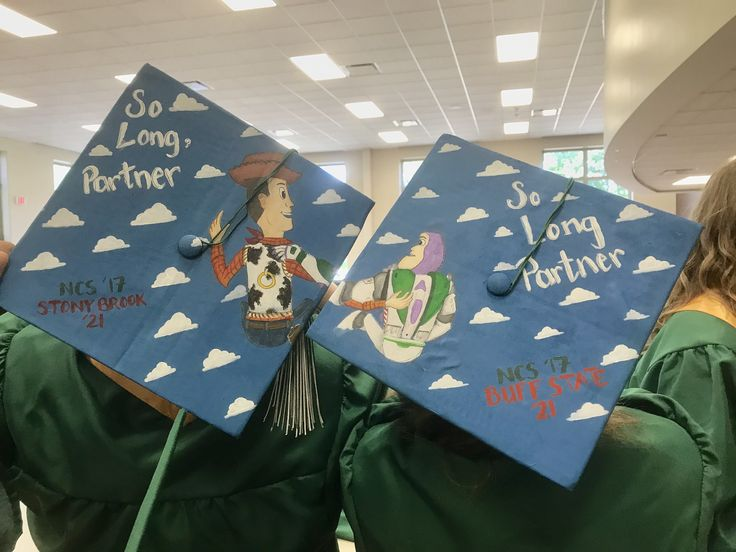 Graduation cap ideas for best friends