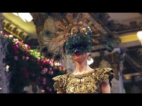 Dolce&Gabbana Alta Moda, Alta Sartoria show in Hong Kong - https://www.youtube.com/watch?v=6_Rf-NTj-eo