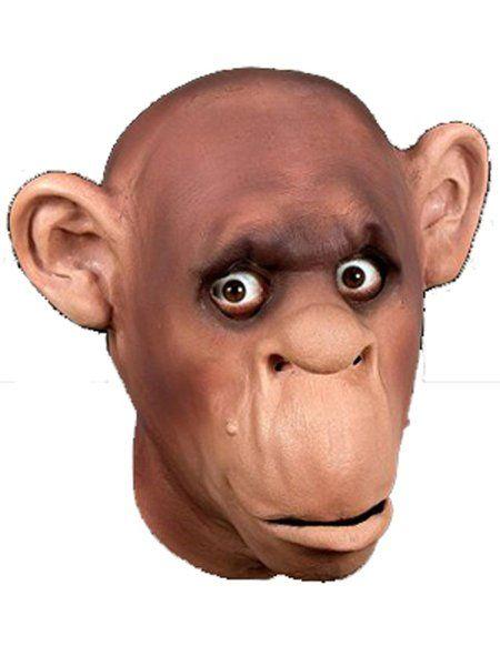"https://11ter11ter.de/18525096.html Latex Überziehmaske ""Schimpanse"" für Erwachsene #11ter11ter #Maske #Latex #Tiermaske #Tier #Mask #Animal #Kostüm"