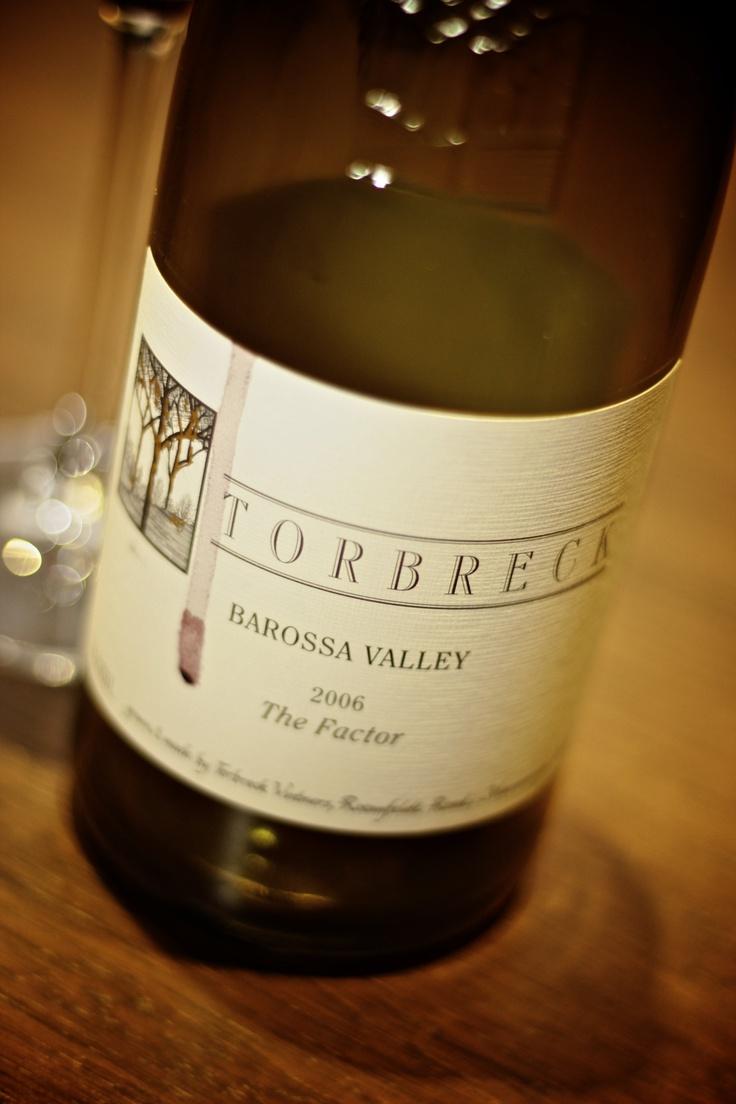 Torbreck 2006 The Factor, Shiraz, Barossa Valley    Yummo!