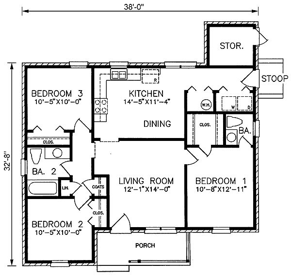 37 Best Images About Small House Building Plans On